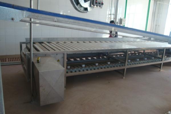 南京卧式放血平板输送机